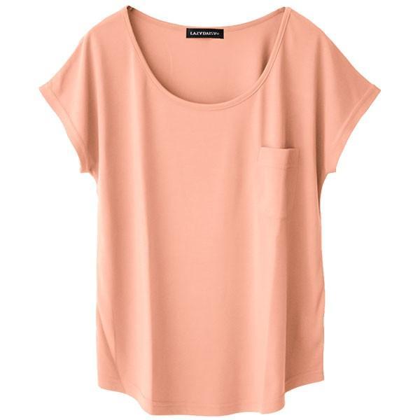 Tシャツ レディース Uネック シンプル ベーシック 美ライン 半袖 大きいサイズ 無地 白 黒 ボーダー ロゴ ホワイト とろみ カットソー 送料無料|f-odekake|39