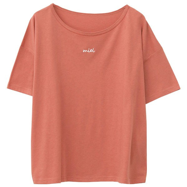 Tシャツ レディース 刺繍 ロゴ 春 夏 半袖 カットソー トップス 送料無料|f-odekake|23