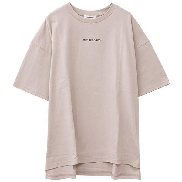 Tシャツ レディース バックプリント ロゴ フォトT ゆったり 半袖 春 夏 カットソー トップス 送料無料|f-odekake|24