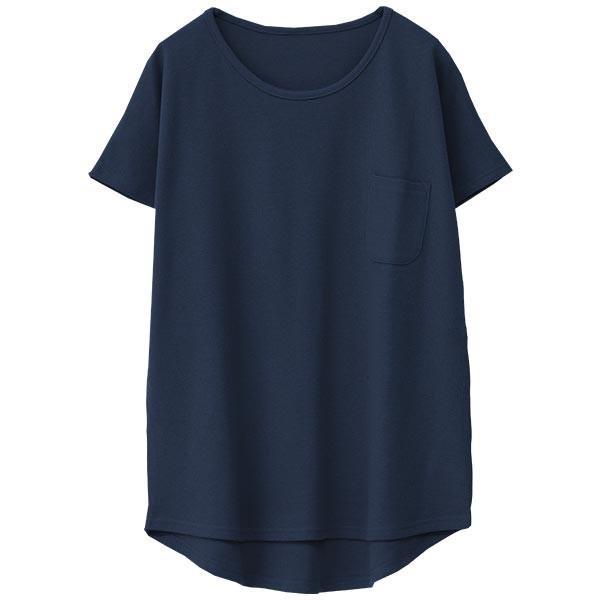 Tシャツ レディース ワッフル 半袖 シンプル 無地 カットソー トップス 送料無料|f-odekake|26