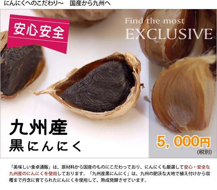 九州産黒にんにく 10個セット