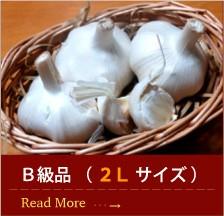 青森産にんにくB級品 ( 2L サイズ )