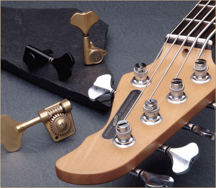 GOTOHベースギターマシンヘッド