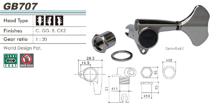 GOTOH GB707製品情報