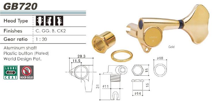 GOTOH GB720製品情報