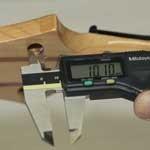 軸穴直径を測る