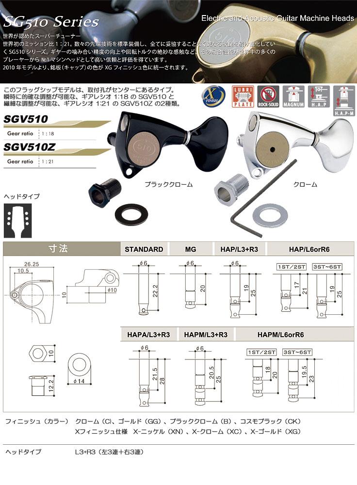 SGV510・SGV510Z商品説明
