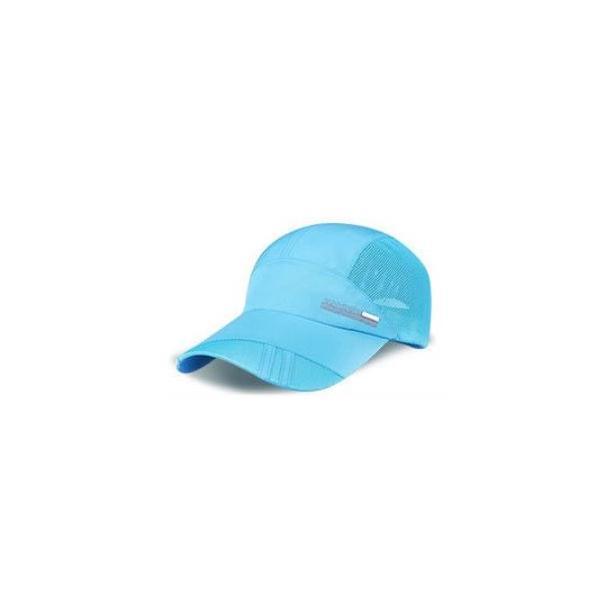 オープン記念セール ランニングキャップ ジョギングキャップ メッシュ 帽子 UVカット サイズ調節可 ウォーキングキャップ メッシュキャップ 日よけ 日焼け防止 factshop 24