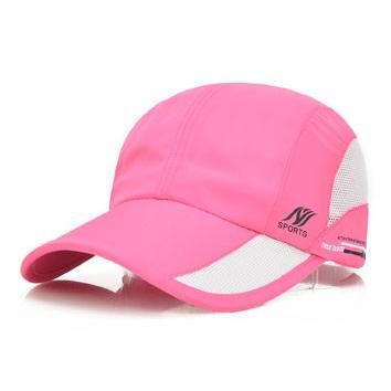 ランニングキャップ ジョギングキャップ メッシュ 帽子 UVカット サイズ調節可 ウォーキングキャップ メッシュキャップ 日よけ 日焼け防止 factshop 20