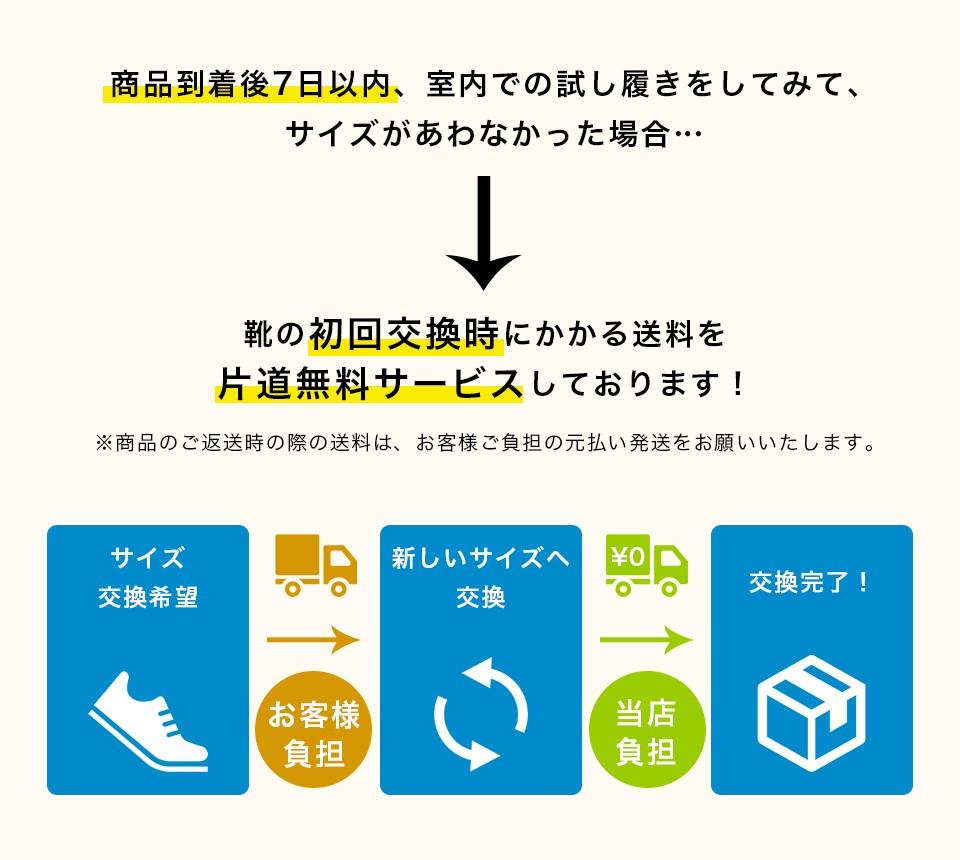 送料片道無料バー