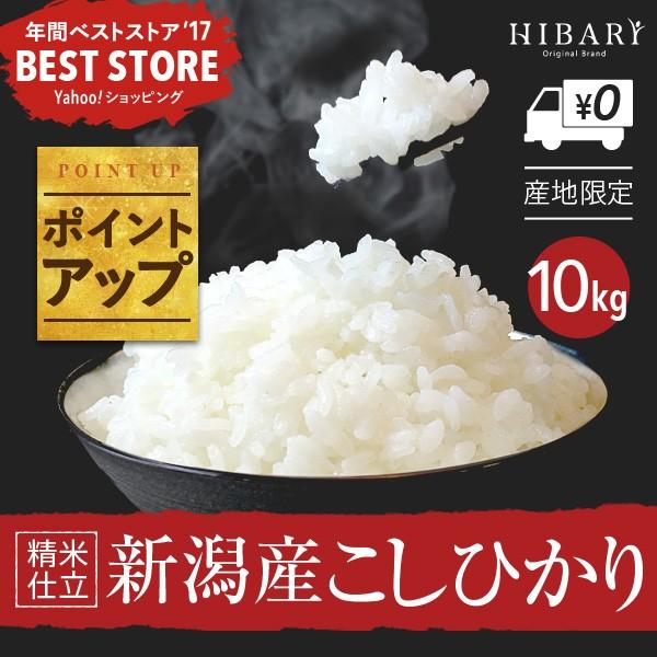 新米sale 平成29年度 新潟産こしひかり10kg