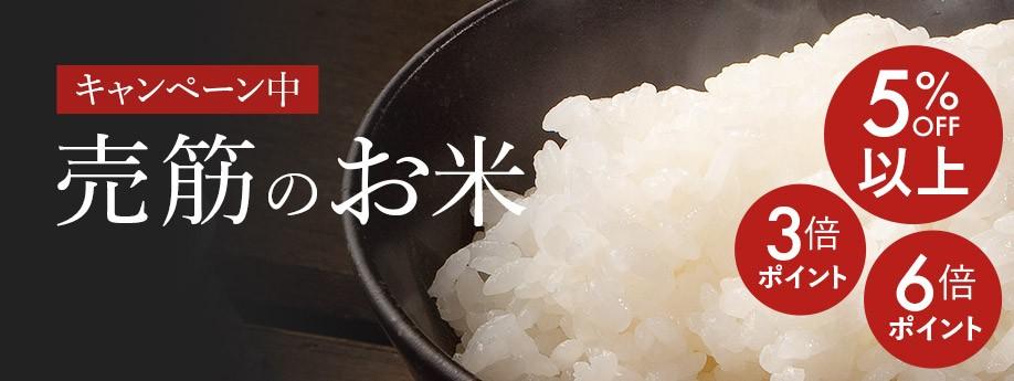 キャンペーン!売筋のお米