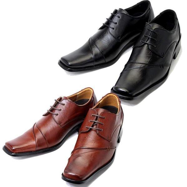 ビジネスシューズ 2足セット 革靴 メンズ ビジネス ストレートチップ シューズ 紳士靴 PU 選べる luminio ルミニーオ 041|fashion-labo|23
