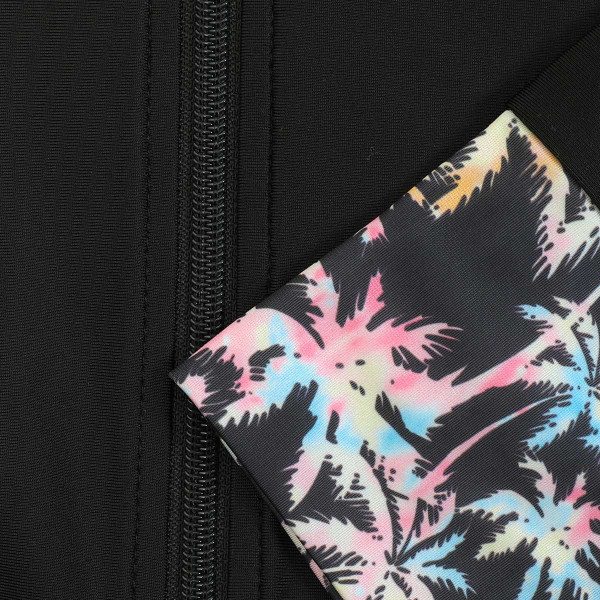 ラッシュガード レディース パーカー おしゃれ 水着用 長袖 ラッシュパーカー ジップアップ UV|fashionletter|40