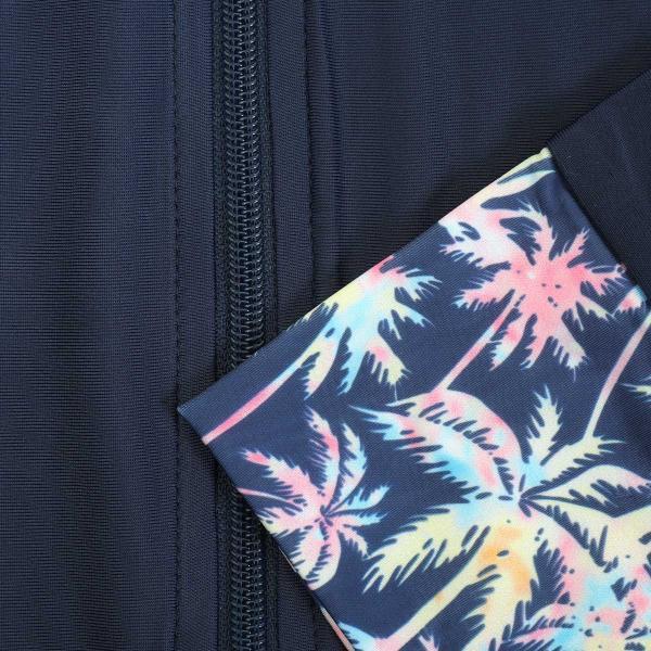 ラッシュガード レディース パーカー おしゃれ 水着用 長袖 ラッシュパーカー ジップアップ UV|fashionletter|41