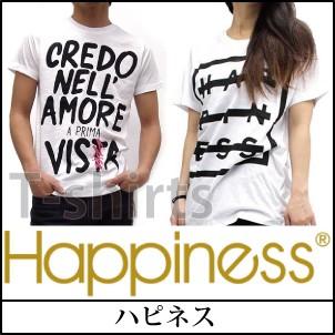 happiness,ハピネス,Tシャツ