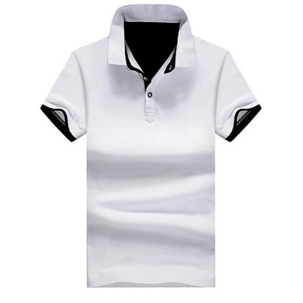 ポロシャツ 半袖 メンズ 無地 ポロ  ユニフォーム クールビズ シンブル ビジネス キレイめ 夏 代引不可|fashiontop|14
