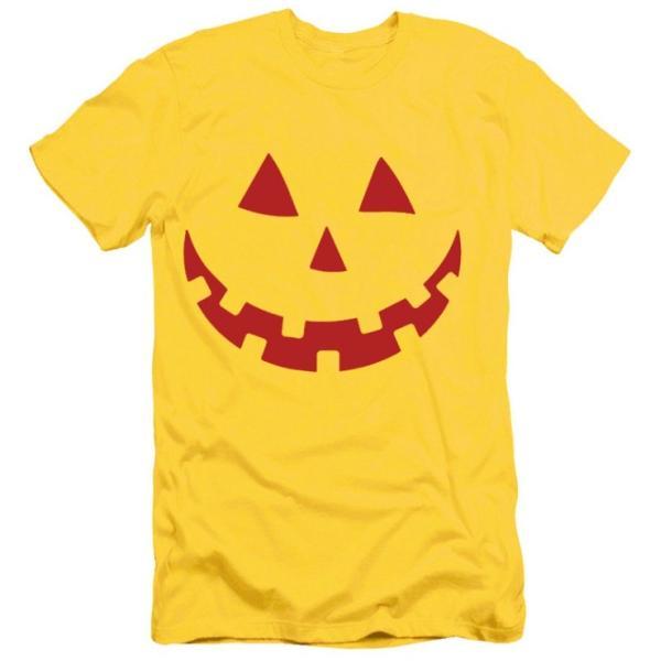 パンプキン 笑うカボチャ Tシャツ ハロウィン カボチャ 男女兼用 おもしろ 仮装 選べる20タイプ プレゼント 送料無料 代引不可 fashiontop 27