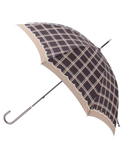 grove(グローブ)通販|ウィンドペンチェック長傘(ブラック(219))