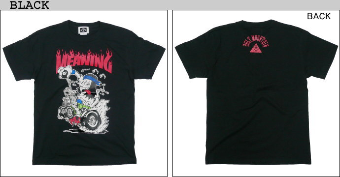 新作 HOLY MOUNTAIN x MEANING x VK DESIGN プリントTシャツ ミーニング バンド ハードコア