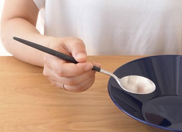 クチポール ゴア テーブルスプーン ブラック Cutipol GOA カトラリー スプーン 食器 おしゃれ