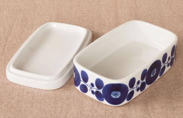 白山陶器 HAKUSAN ブルーム BLOOM バターケース 保存容器 波佐見焼