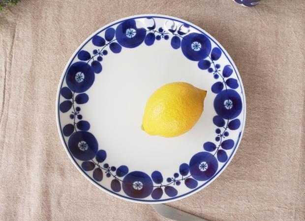 白山陶器 ブルーム プレート L 23.5cm リース BLOOM 波佐見焼 HAKUSAN