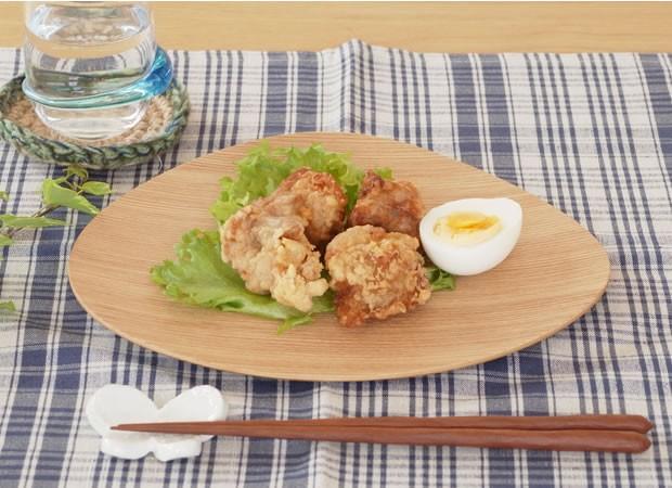 木製食器 皿 プレート 木製 食器 マロン型 日本製 Natural Plywood Dish Marron M GOLD CRAFT ゴールドクラフト