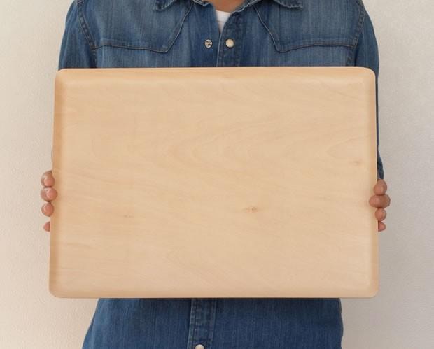 木製 トレー お盆 カフェトレー 長方形 日本製 Natural Plywood Tray Recta GOLD CRAFT ゴールドクラフト