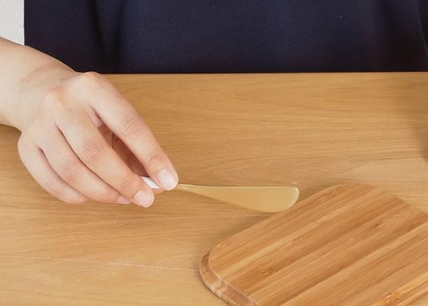 クチポール ゴア バターナイフ ホワイトゴールド Cutipol GOA カトラリー ナイフ 食器 おしゃれ