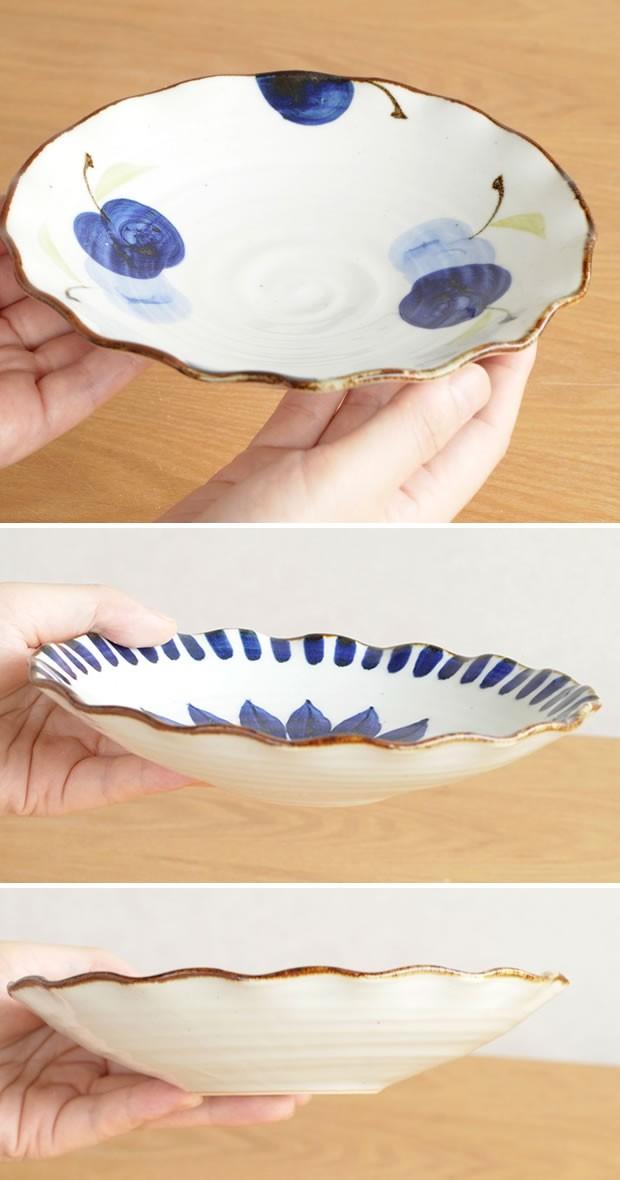 波佐見焼 HASAMI 翔芳窯 藍の器 銘々皿