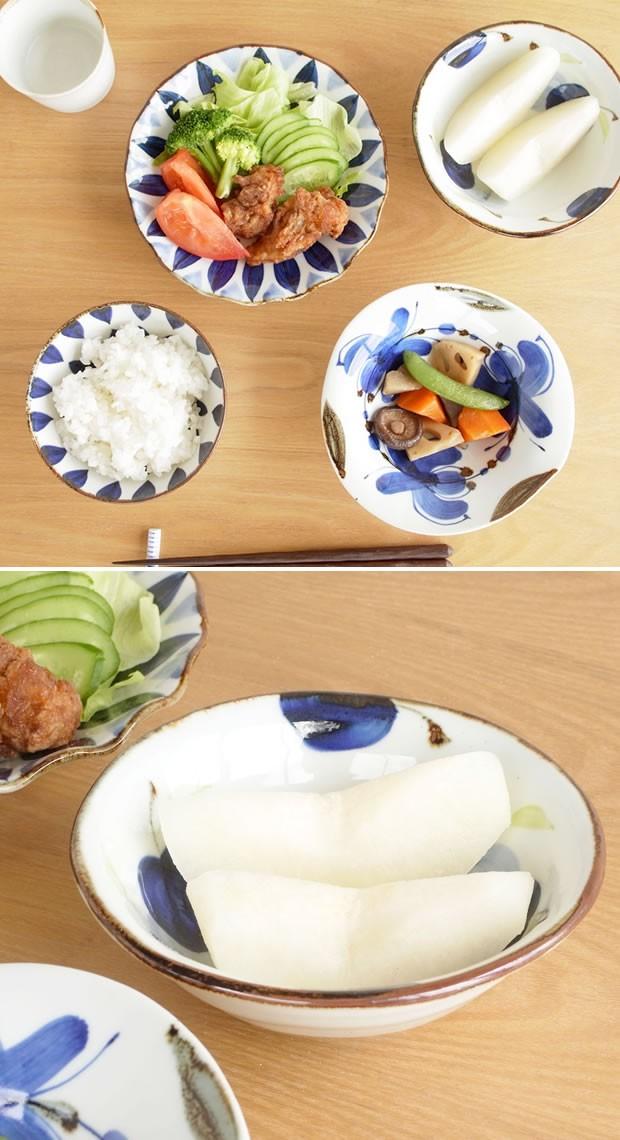 波佐見焼 HASAMI 翔芳窯 藍の器 小鉢 14cm