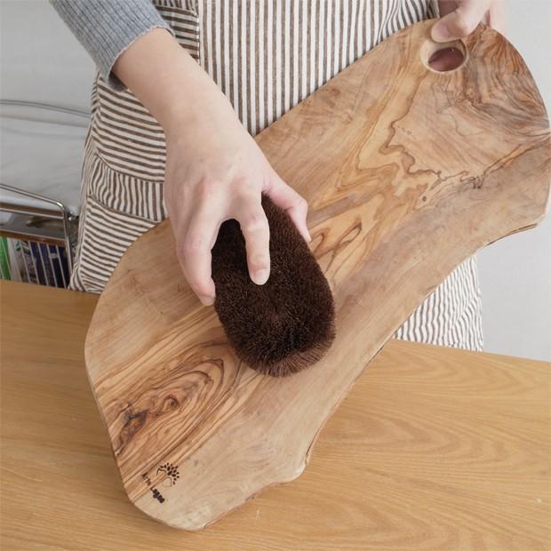 亀の子束子 棕櫚たわし 極〆 No.4 日本製 亀の子たわし シュロたわし しゅろたわし きわめ タワシ 大判型 大きい