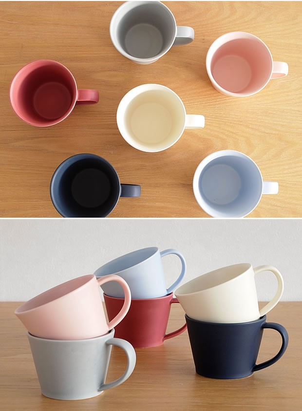 作山窯 SAKUZAN 美濃焼 Sara コーヒーカップ マグカップ 食器 日本製 和食器 手仕事 うつわ 器 手作り 贈り物