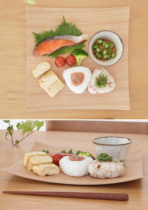 木製食器 皿 プレート 木製 食器 四角 スクエア 正方形 27cm 日本製 Natural Plywood Dish Square L GOLD CRAFT ゴールドクラフト