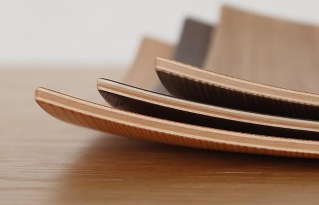 木製食器 皿 プレート 木製 食器 四角 スクエア 正方形 21.5cm 日本製 Natural Plywood Dish Square M GOLD CRAFT ゴールドクラフト
