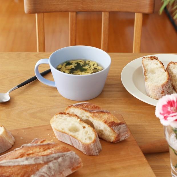 SAKUZAN Sara スープカップ マグカップ 260ml 作山窯 美濃焼 食器 日本製 和食器 手仕事 うつわ 器 手作り 贈り物