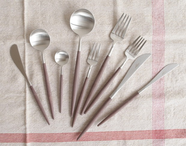 クチポール ゴア ディナー ナイフ ブラウン Cutipol GOA カトラリー 食器 おしゃれ