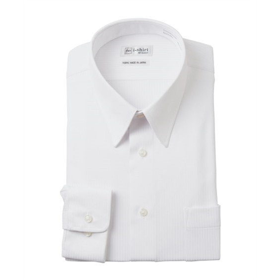 (特別価格) ノーアイロン長袖ストレッチiシャツ 伸びる ワイシャツ M-10L レギュラーカラー 大きいサイズ メンズ はるやま i-Shirt|faz-store|14