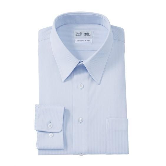 (特別価格) ノーアイロン長袖ストレッチiシャツ 伸びる ワイシャツ M-10L レギュラーカラー 大きいサイズ メンズ はるやま i-Shirt|faz-store|15