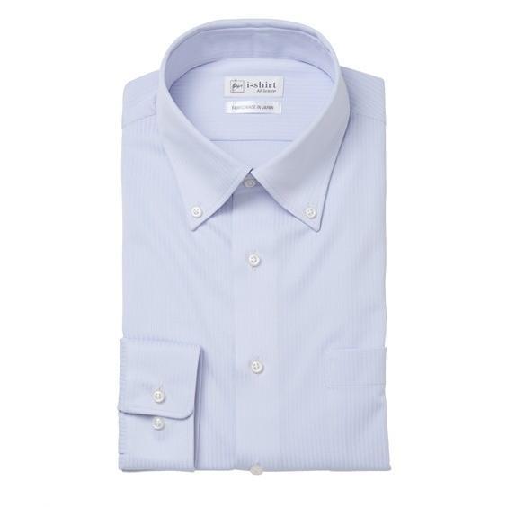 (特別価格) ノーアイロン長袖ストレッチiシャツ 伸びる ワイシャツ M-10L ボタンダウン 大きいサイズ メンズ はるやま i-Shirt アイシャツ faz-store 17