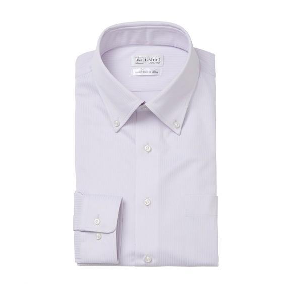 (特別価格) ノーアイロン長袖ストレッチiシャツ 伸びる ワイシャツ M-10L ボタンダウン 大きいサイズ メンズ はるやま i-Shirt アイシャツ faz-store 18