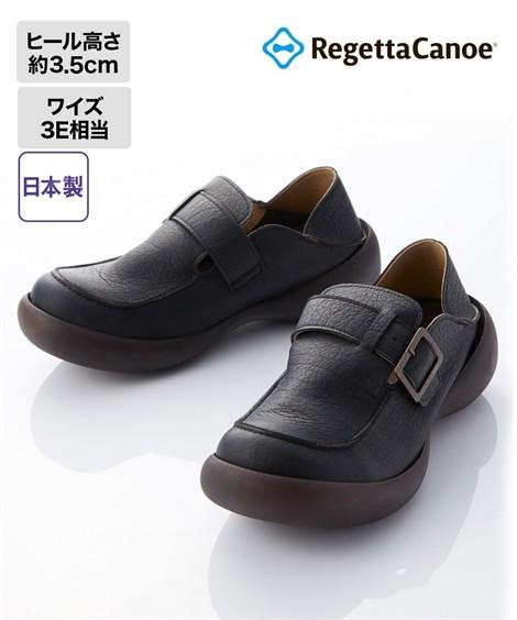 靴(シューズ)|【18秋冬新入荷】 リゲッタカヌー 靴 シューズ メンズ 2Wayシューズ(CJFS6910) 25cm〜28.5cm ニッセン(ブラック)