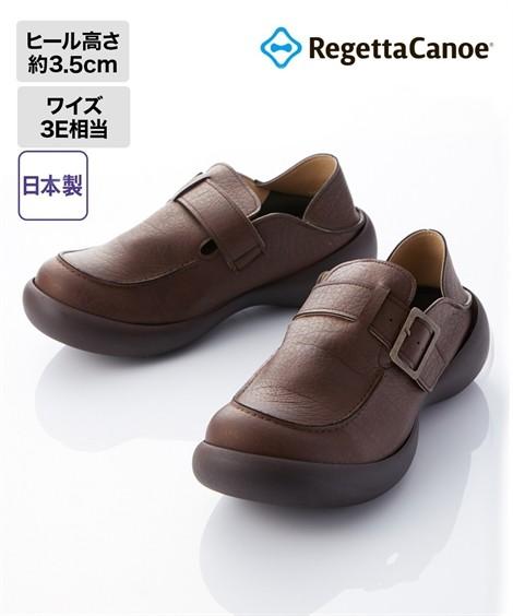 靴(シューズ)|【18秋冬新入荷】 リゲッタカヌー 靴 シューズ メンズ 2Wayシューズ(CJFS6910) 25cm〜28.5cm ニッセン(ブラウン)