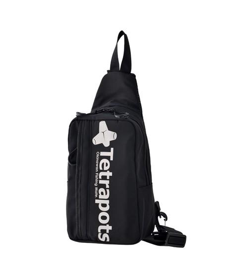 バッグ(鞄) 【イチ押し】 テトラポッツ(Tetrapots)  ナイロンボディバッグ ニッセン nissen(ブラック)