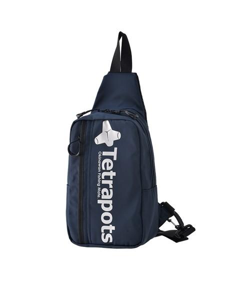 バッグ(鞄) 【イチ押し】 テトラポッツ(Tetrapots)  ナイロンボディバッグ ニッセン nissen(ネイビー)