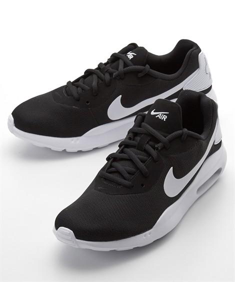 靴(シューズ) ナイキ(NIKE) エアマックスオケト 24.5-30cm 靴 シューズ スニーカー ニッセン(ブラック×ホワイト)