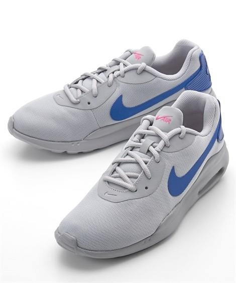 靴(シューズ) ナイキ(NIKE) エアマックスオケト 24.5-30cm 靴 シューズ スニーカー ニッセン(ウルフグレー×レーサーブルー)