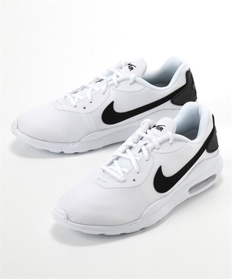 靴(シューズ) ナイキ(NIKE) エアマックスオケト 24.5-30cm 靴 シューズ スニーカー ニッセン(ホワイト×ブラック)