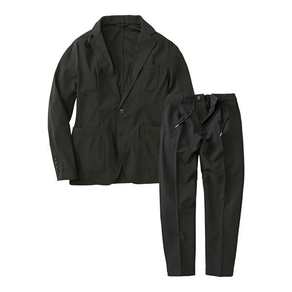 セットアップスーツ メンズ M-4L ストレッチ素材セットアップスーツ(ジャケット+パンツ) 大きいサイズ メンズ 上下セットでお買い得 送料無料|faz-store|18